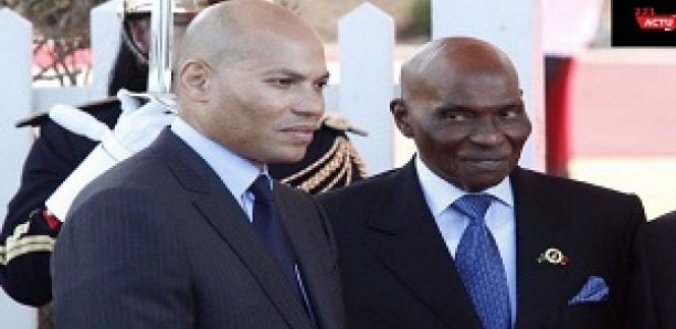 Le message fort d'Abdoulaye Wade à Karim